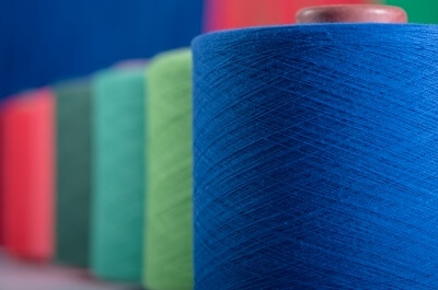 Different Recycled Yarn Composition in Materials, Content, Blend, and Count